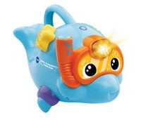 Vtech Swim & Spray Musical Dolphin™ Interactive Learning Toy - French