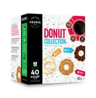 Keurig Donut Collection Variety Box K-Cup Coffee Pods