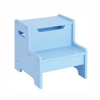 Guidecraft Banc-escabeau expressions - bleu clair