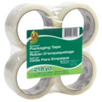 Duck Brand Pakaging Tape Clear - 4pk.
