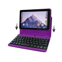 "RCA 7"" Android Tablet with Keyboard Purple"