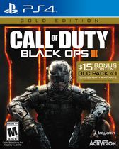 Jeu vidéo Call of Duty: Black OPS III : édition or pour PS4 - Anglais