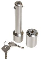 Reese Towpower®  Professional Barrel-Style Chrome Receiver Lock