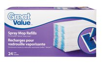 Recharges Great Value pour vadrouille vaporisante