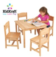 Kidkraft Farmhouse Table & 4 Chairs