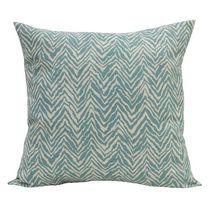"""Hillstone Decorative Pillow Throw Cushion, 20"""" x 20"""" in Ocean"""