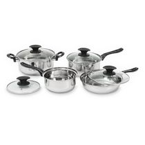 Starbasix Stainless Steel 8-Piece Cookware Set