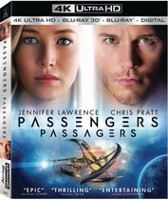 Passengers (4K Ultra HD + 3D Blu-ray + Blu-ray + Digital HD) (Bilingual)