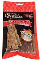 Rollover Braided Beef Jerky Premium Dog Treat