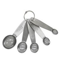 Mainstays 5-Piece Measuring Spoon Set