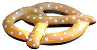 Incredible Novelties Giant Pretzel Pool Float