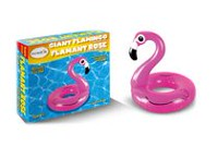 Incredible Novelties Giant Flamingo Pool Float