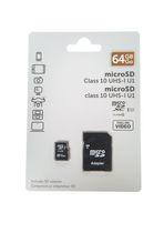MSD CL10 UHS-I U1 64GB + ADAPTER