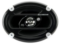 SCOSCHE 6.90in 3-Way Triaxial Speaker