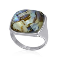 Sterling Silver Ladies Ring 8