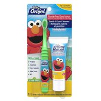 Baby Orajel® Tooth & Gum Cleanser with Baby-Sized Brush