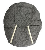 Mint Marshmallow Carseat Cover - Grey