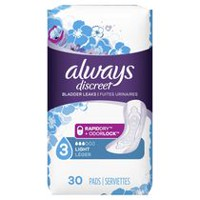 Always Discreet Ultra Thin Regular Length Incontinence Liners