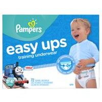 Pampers Easy Ups Training Underwear Boys