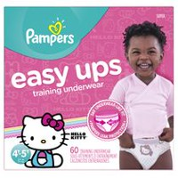 Pampers Easy Ups Training Underwear Girls