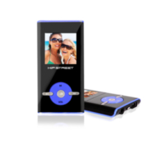 Hip Street HS-T29 4GB MP3 Video Player - Blue