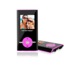 Hip Street HS-T29 4GB MP3 Video Player - Pink
