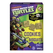 Biscuits Les Tortues Ninja de Funcookies
