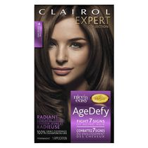 Colorant permanent Clairol Expert Nice 'n Easy Age Defy Brun foncé 4