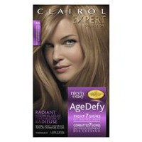 Colorant permanent Clairol Expert Nice 'n Easy Age Defy Chatain clair doré 6G