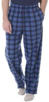 Fruit of the Loom Men's Fleece Sleep Pants L