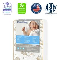 Dream On Me 2-In-1 Breathable Two-Sided, Mini/Portable Crib Foam Mattress