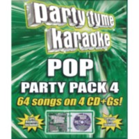 Sybersound - Party Tyme Karaoke - Pop Party Pack 4 (4CD)