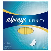 Always Infinity Regular Pads with Wings