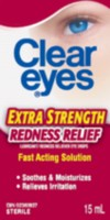 Clear Eyes Extra Strength Redness 15ml