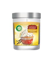 Bougie Air Wick - Enchanted Holiday - Frosted Vanilla & Cupcake Delight