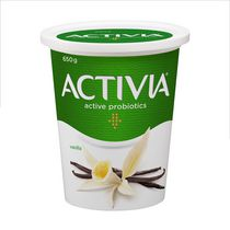 Activia Yogourt probiotique, saveur vanille, 650g