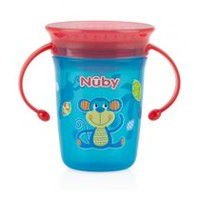 Nûby No-Spill™ 360⁰ Wonder Cup™ 8oz. Monkey