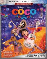 COCO (Blu-ray + DVD + Digital HD) (Bilingual)