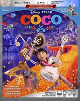 COCO (Blu-ray + DVD + HD Numérique) (Walmart Exclusive - Collectible Pin) (Bilingue)