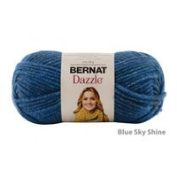 Bernat Dazzle Yarn Blue Sky Shine