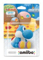 Yoshi Yarn amiibo Light Blue