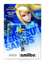 Zero Suit Samus amiibo - Super Smash Series