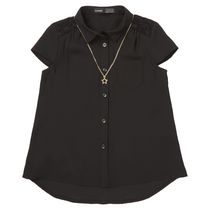 George British Design Girls' Lace Necklace Blouse 5