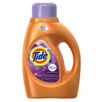 Tide HE Turbo Clean Plus Febreze Freshness Spring & Renewal Scent Liquid Laundry Detergent