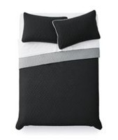 Mainstays Black Quilt Set TwinXL