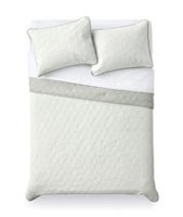 Mainstays White Quilt Set TwinXL