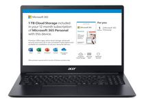 """Acer Aspire 1 15.6"""" Laptop Intel N4020 A115-31-C68L includes Microsoft 365 Personal with 1 TB Cloud Storage"""
