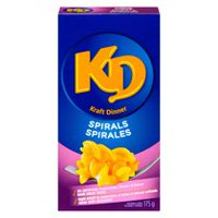 Kraft Spirals Macaroni and Cheese