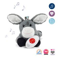 Zazu Dex Comforter with Heartbeat Sound Activated Plush Toy