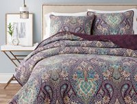 hometrends Saffron Quilt Set King